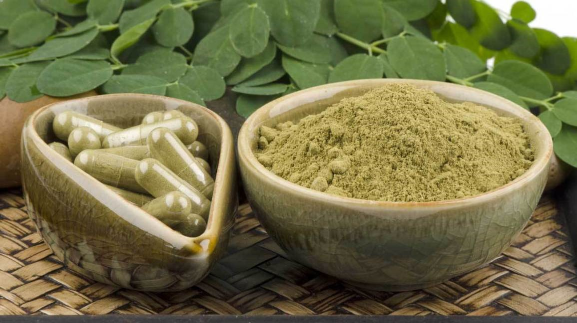 Oleifera leaf Powder